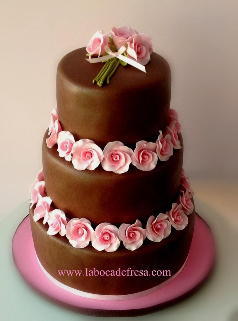 Galería Categoría: Tortas y Postres Via boda - Imagenes De Tortas Decoradas Con Flores
