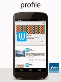 Fast Pro for Facebook android apk - Screenshoot