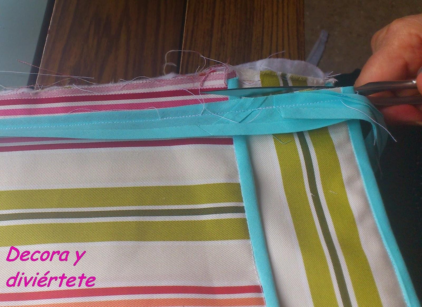Decora y divi rtete un tutorial para hacerte un zapatero for Zapatero de tela barato