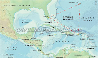 Bermuda Triangle Map and Location BERMUDA TRIANGLE HISTORY