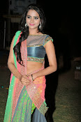 Manasa Glamorous Photos in Half saree-thumbnail-8