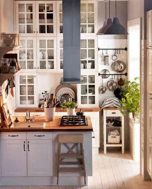 45 Grandes Ideas Para Decoracion Cocinas Pequeñas 2013 - Decoración ...