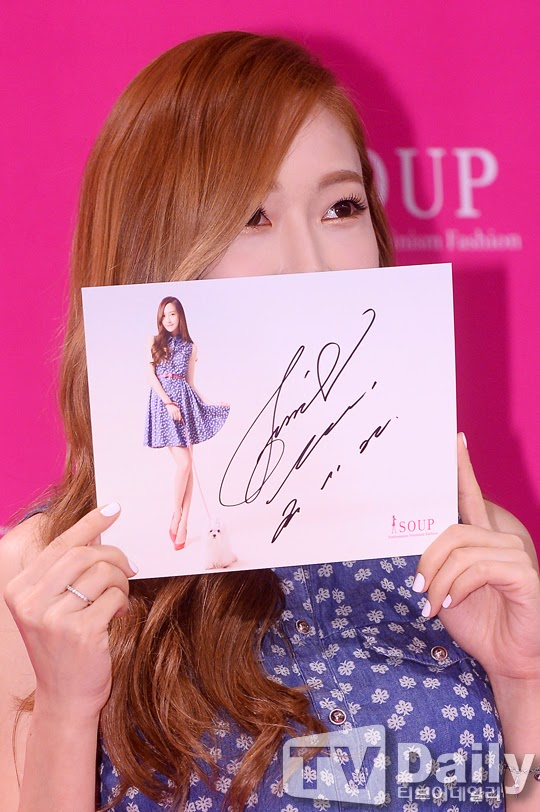 Jessica Soup Signing Event