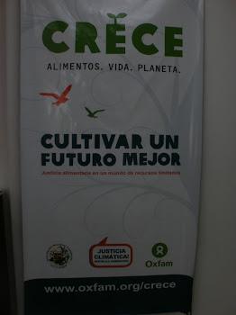 CAMPAÑA CRECE DE OXFAM.