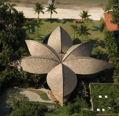 Arquitetura: Rumah Berbentuk Daun yang Menawan (11 Gambar)