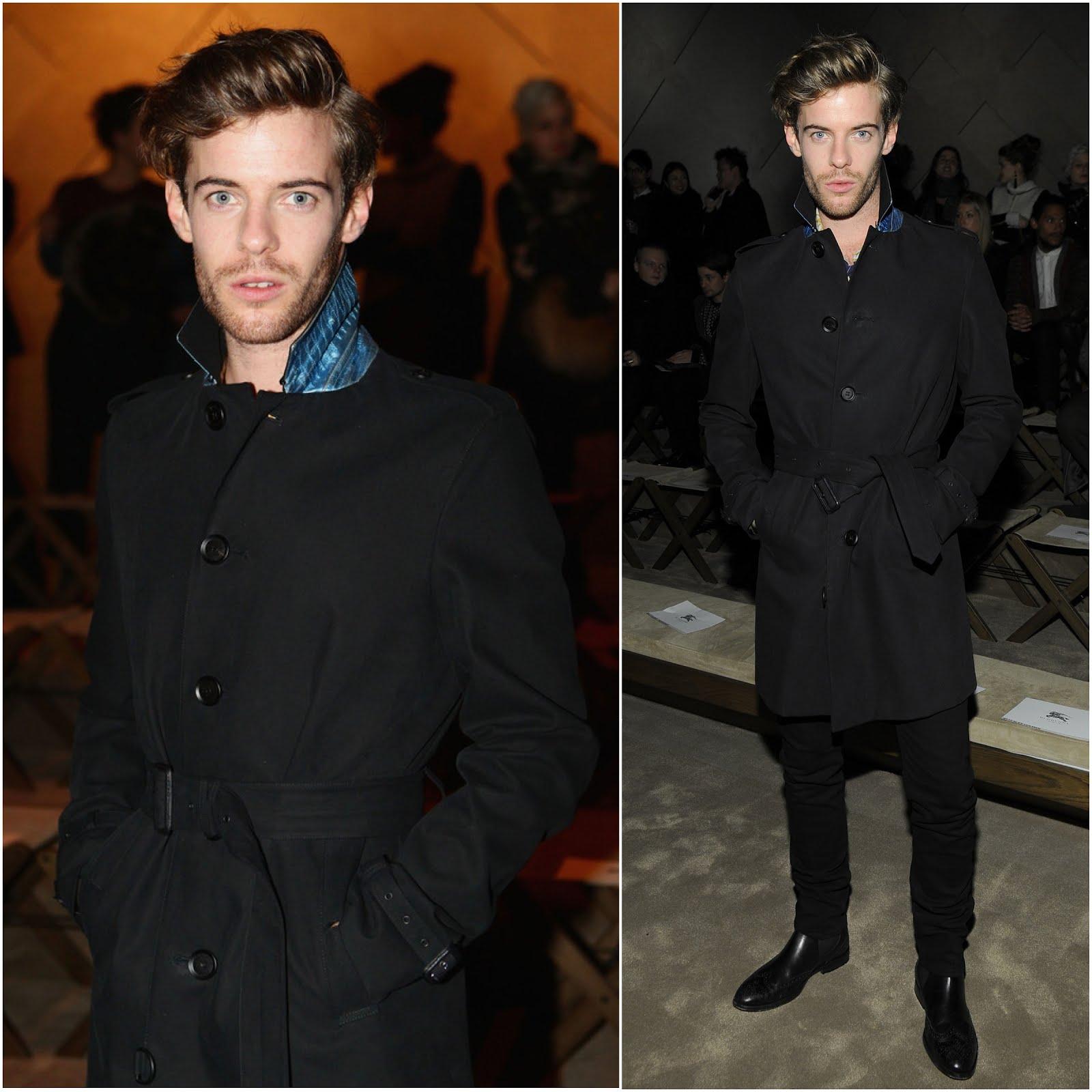 00O00 Menswear Blog Harry Treadaway in Burberry - Burberry Prorsum Menswear FW2013, #MFW