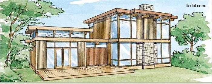 Arquitectura de casas modernas casas de madera - Casas prefabricadas por modulos ...