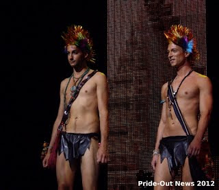 Gay Model of the Year 2012 - Thomas Bitschnau und Joachim Trauner