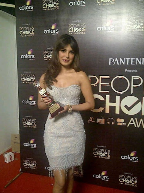 Priyanka Chopra at Colors People's Choice Awards