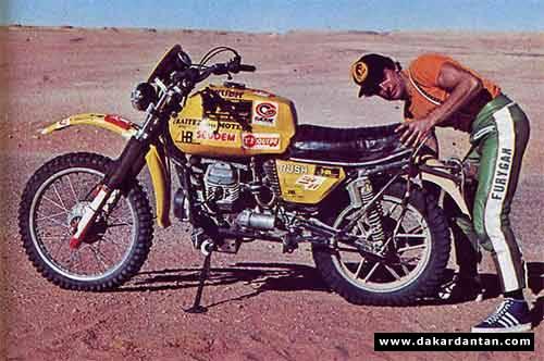 1979 Paris Dakar Moto Guzzi V50