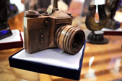 Фото Укринформ: в музее шоколада
