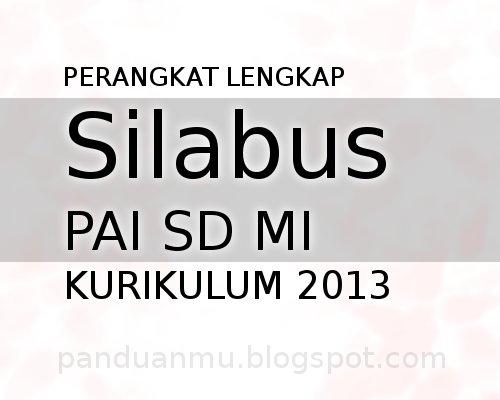 silabus PAI kurikulum 2013