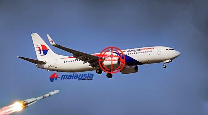 Video Amatir Malaysia Airlines Jatuh Ditembak Rudal