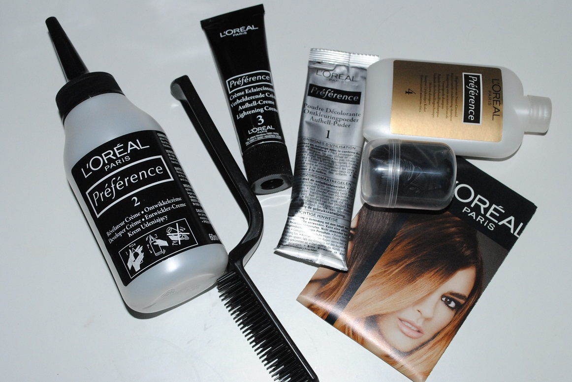 Oreal Preference Wild Ombres Dip Dye Hair Kit