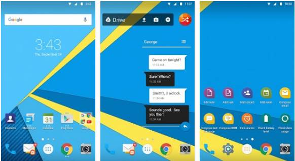 Official Free Download BlackBerry Launcher .APK for Android FINAL Gratis Terbaru