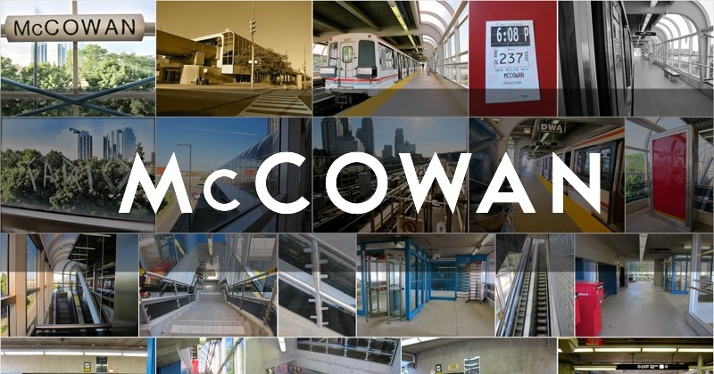 Photo gallery for McCowan station