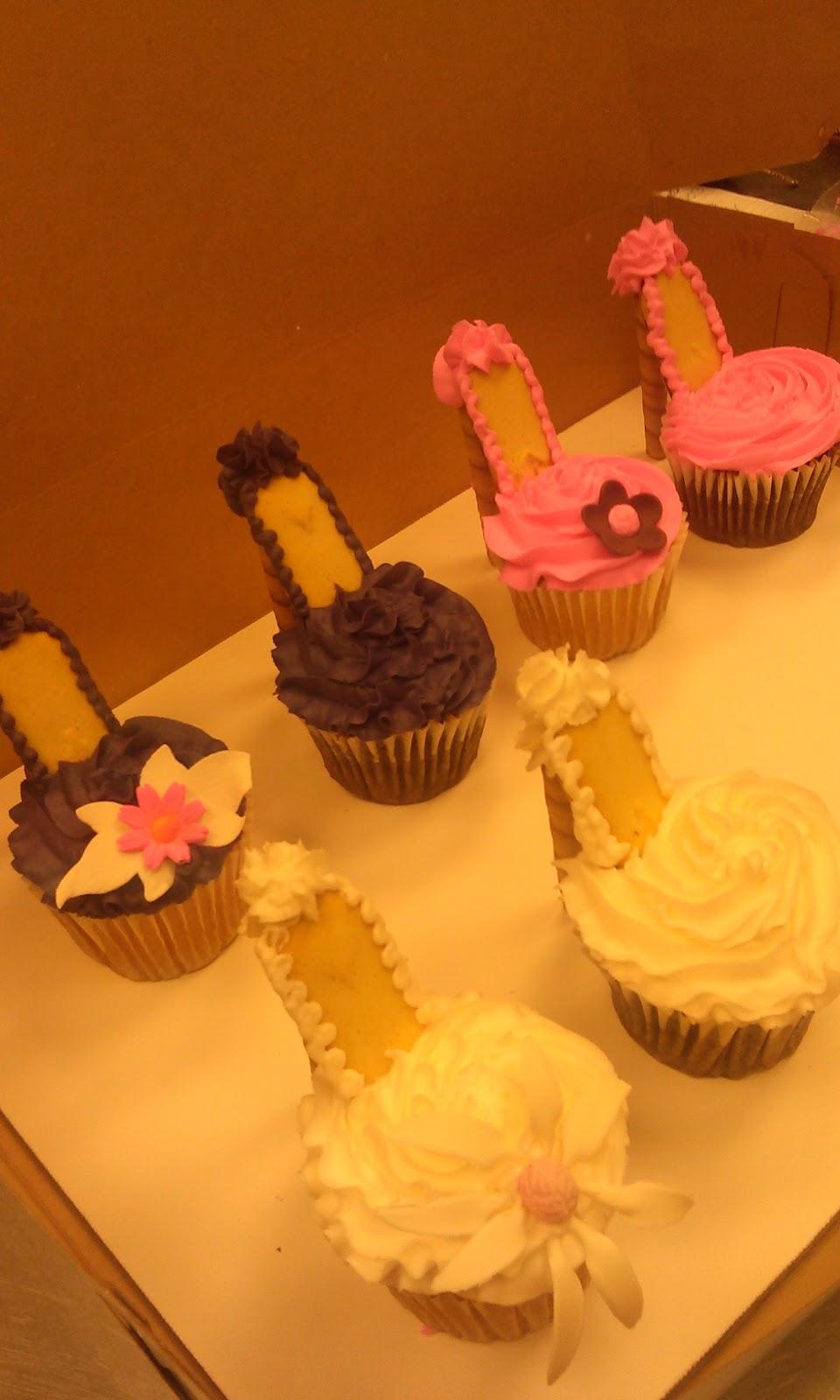 Cake Art Lawrenceville Hwy : CAFE AROMAS: Shoe Cupcakes