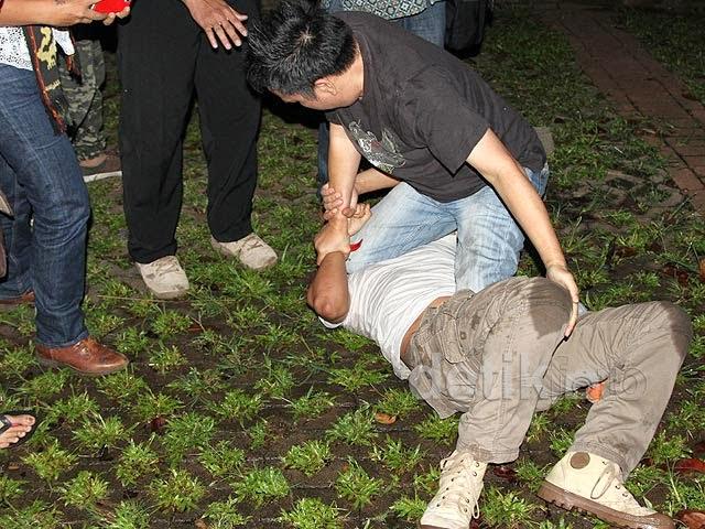 twitwarberujung duel di Istora Senayan