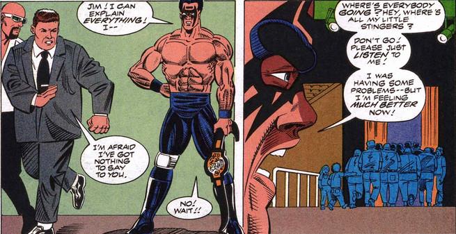 WCW Marvel Sting Jim Ross Jesse Ventura