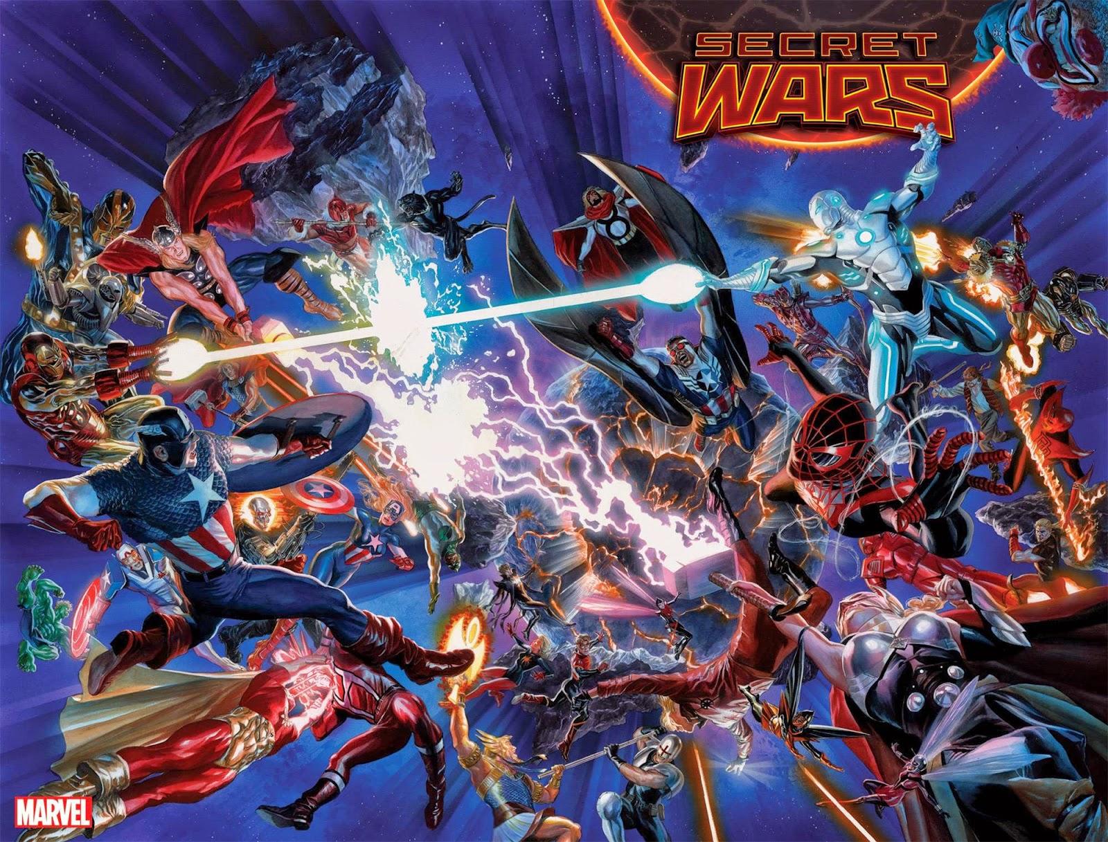 Marvel Announces new Secret Wars Event, Release Alex Ross Promo Image