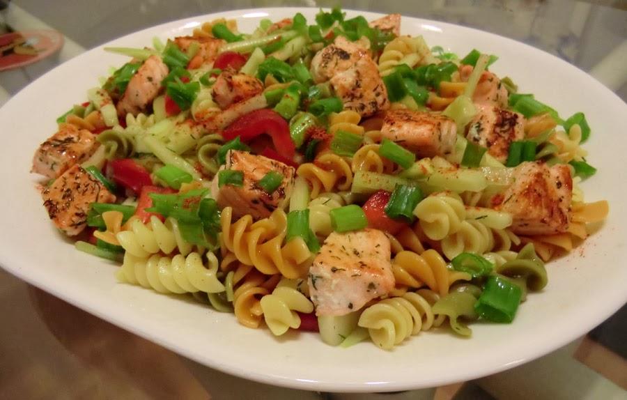 Salmon Macaroni Salad Recipe — Dishmaps