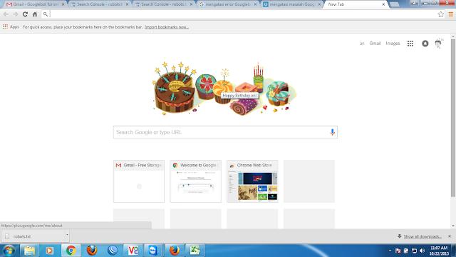 Selamat Ulang Tahun Dari Google Untuk Anda