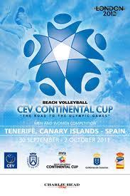 VOLEY PLAYA-Parejas españolas que estarán en la Continental Cup