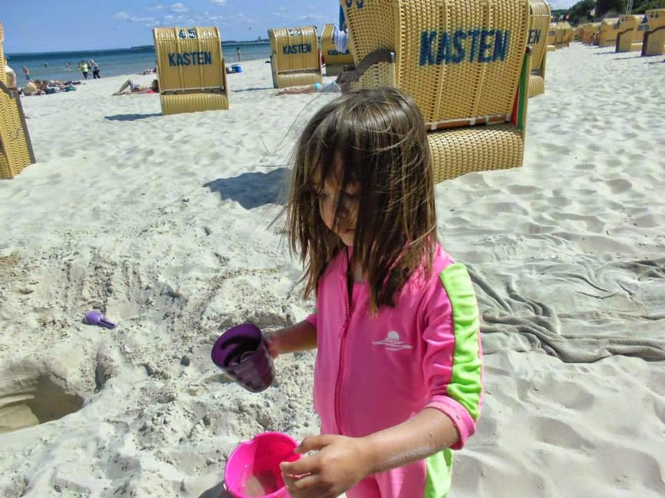 Many beach baskets (Strandkorb)