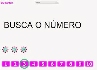 Busca o número