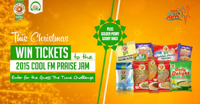 How to win free tickets to Cool FM Praise Jam 2015 ['Guess the Tune']