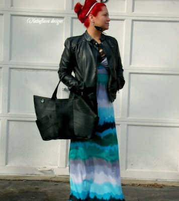 fashion work outfit paired with black butterfly maggie bag