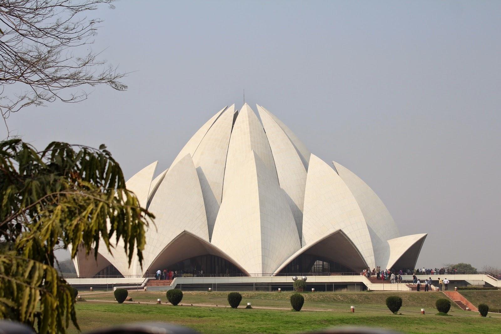 India : Lótusz templom