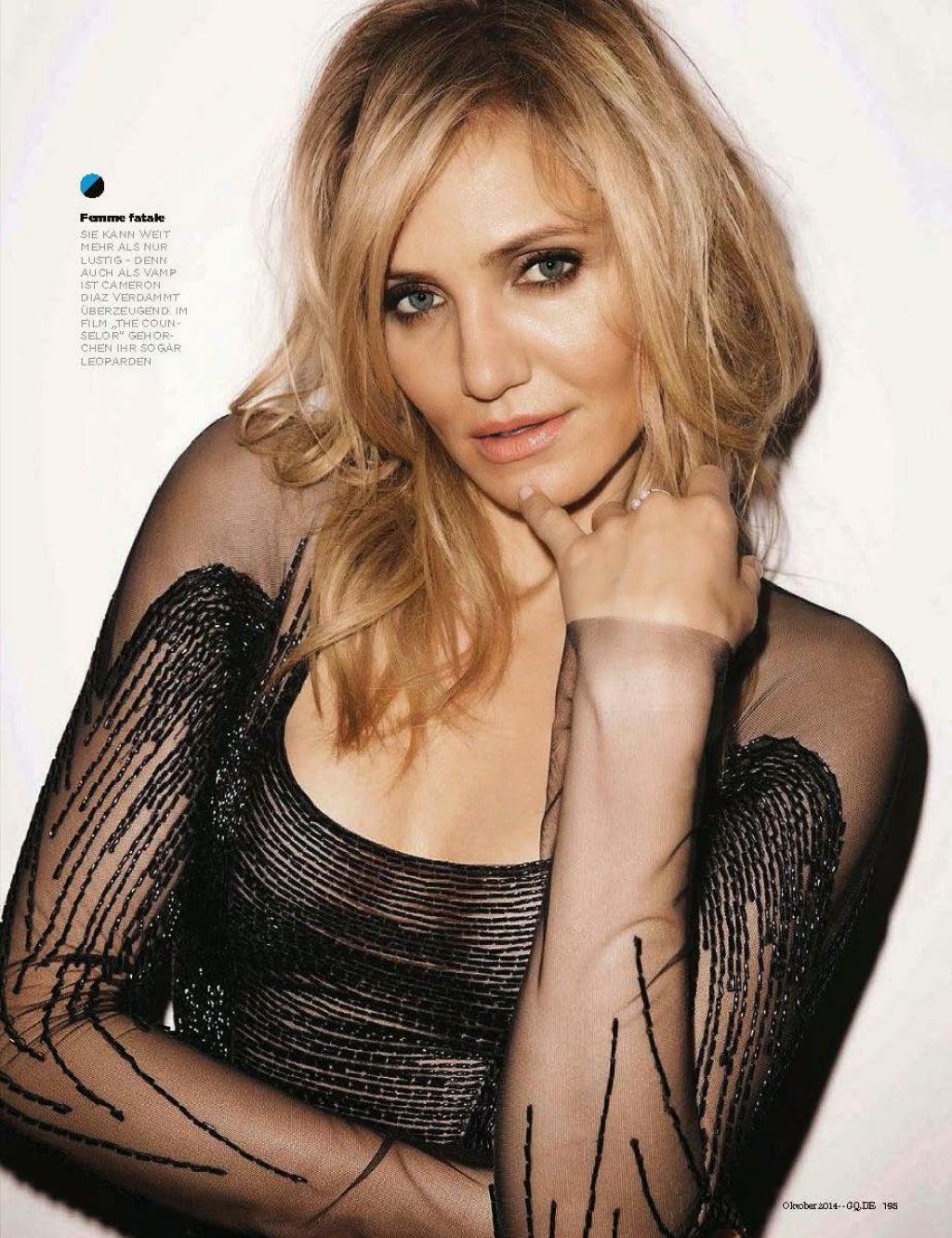 Hollywood Actress Cameron Diaz Photoshoot for GQ Magazine ... Cameron Diaz