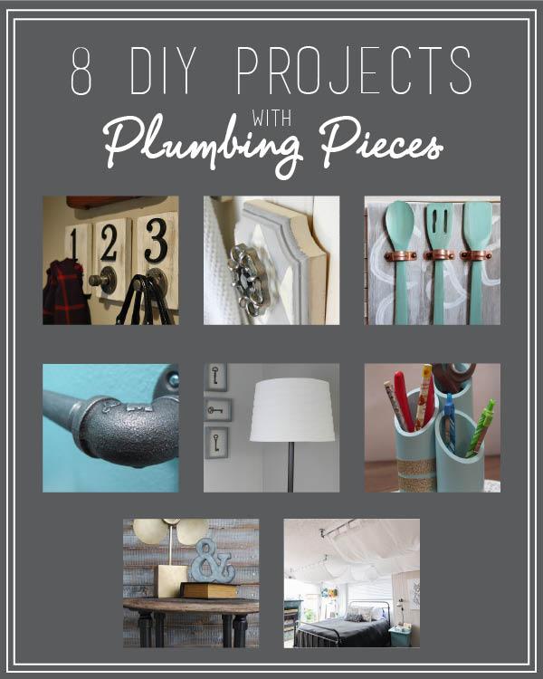 8 DIY Plumbing Piece Projects