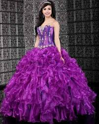 Purple Wedding Dresses with Color