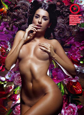 hot Italian girl Valentina Vignali nude in Playboy photoshoot