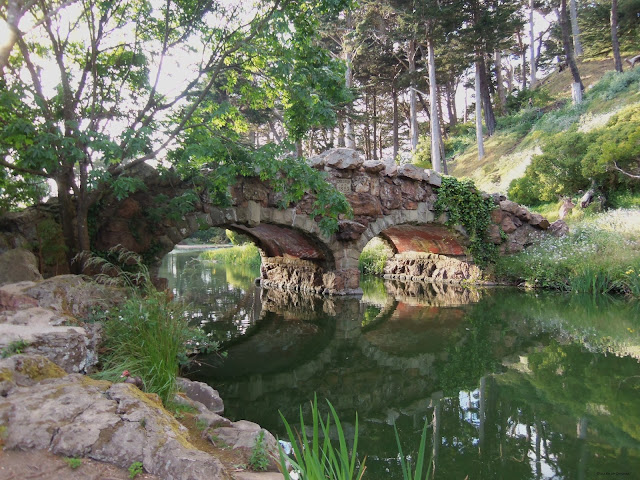 stone bridge, golden gate park