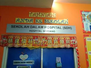 Apa Itu Sekolah Dalam Hospital?