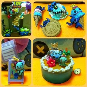 Toy Story + Stitch + Scrump Figures !