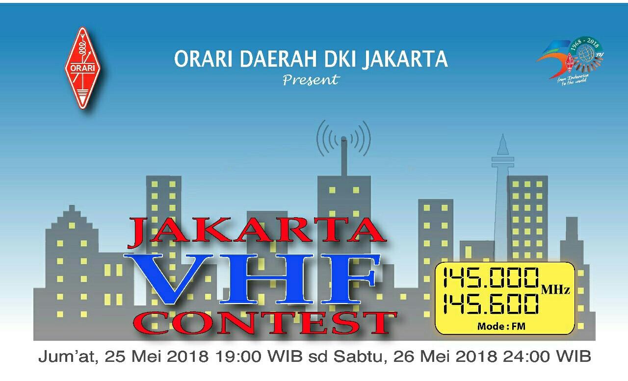 JAKARTA VHF KONTES 2018