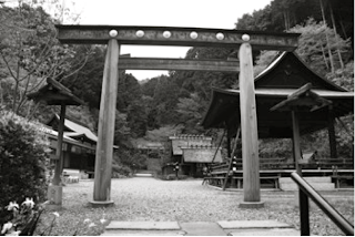 Vue d'ensemble du sanctuaire Himukai daijingū