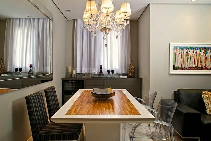 Projeto De Sala Pequena ~ Decoração salas de jantar!  Jeito de Casa  Blog de Decoração