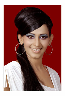 Sanjana Singh Spicy Pictureshoot for her Portfolio Face Closeups
