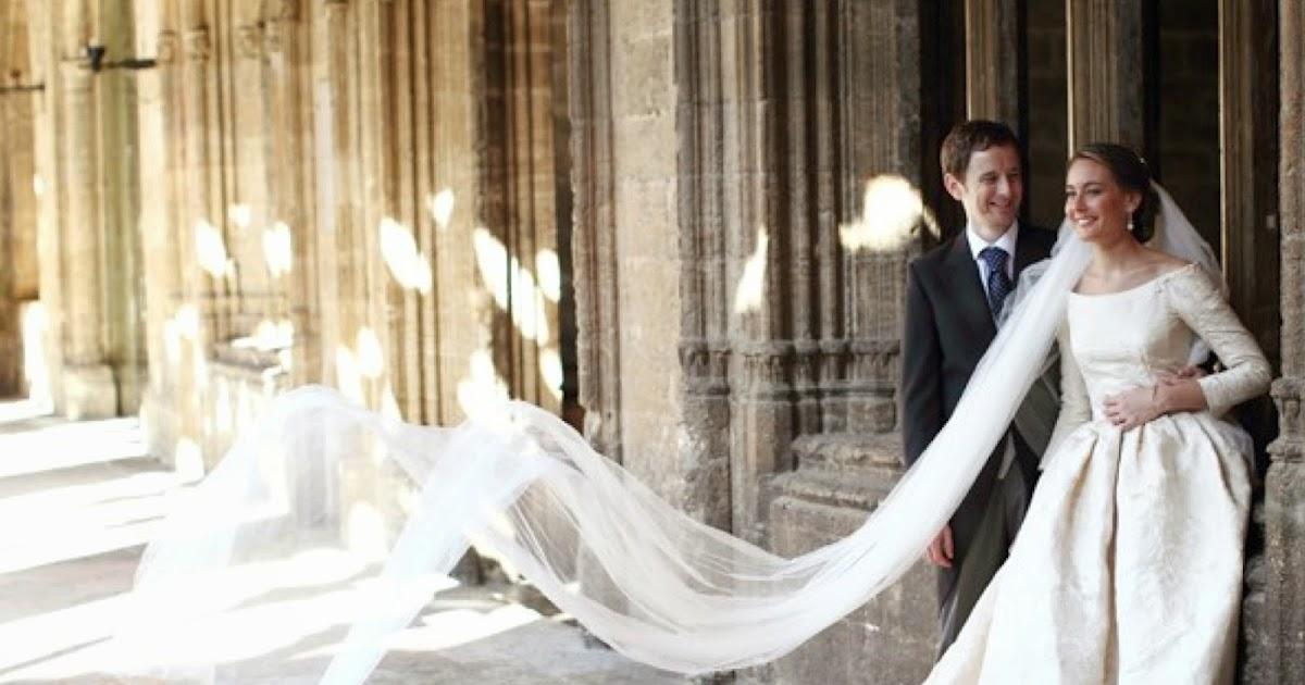 diario de una peineta: j.v.: vestidos de novia realizados con