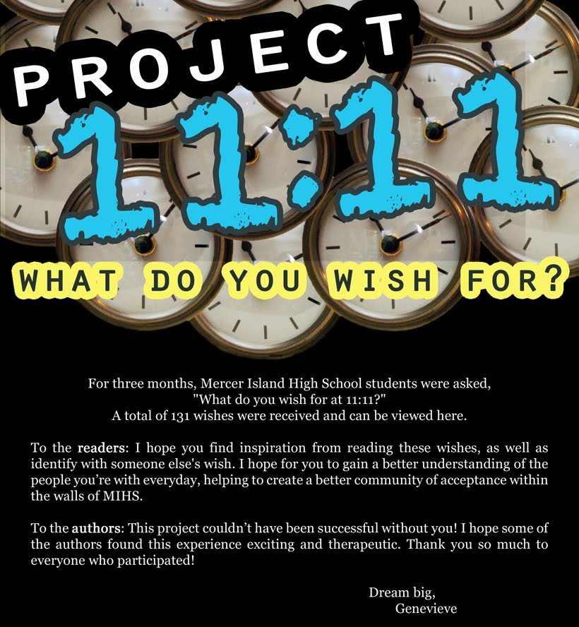 Project 11:11