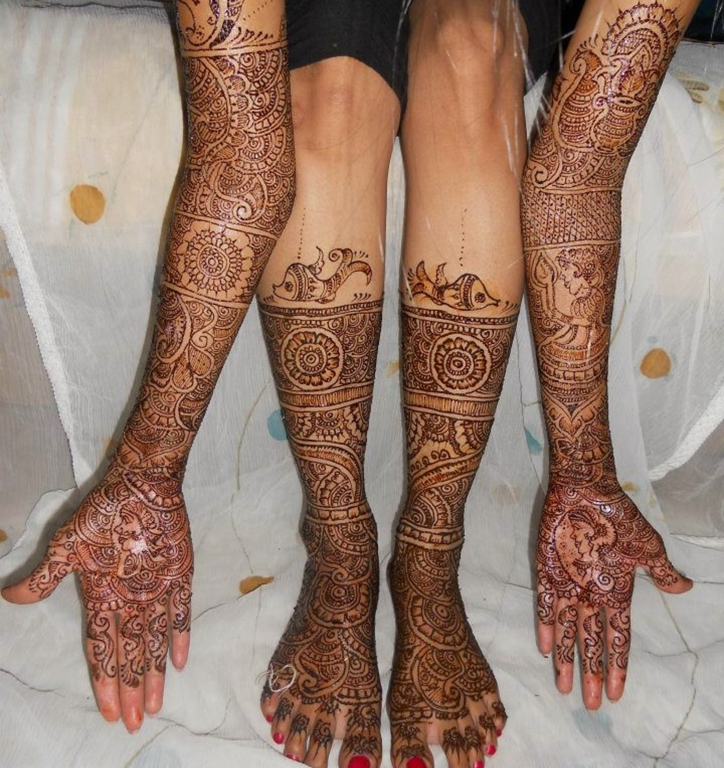 Hand Mehndi Download : Bridal mehndi designs new feet and hand
