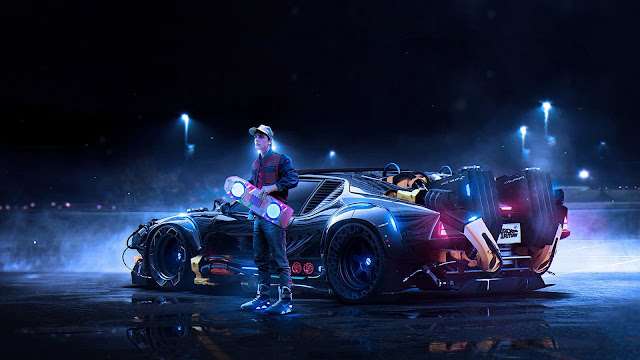 Back to the Future Marty McFly Regreso al futuro