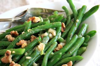 Versatile mustard vinaigrette recipe for green beans, roasted potatoes and roast chicken