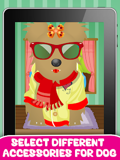 Download Dog Salon and Dressup Game for kids