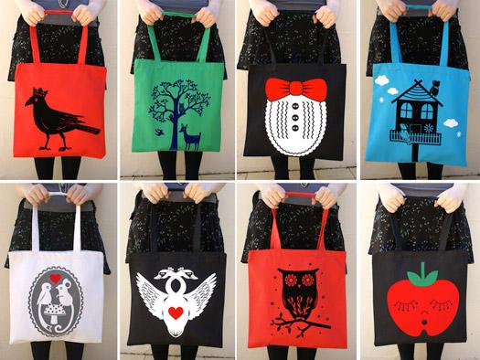 Tote Bag Design Ideas - Blue Crossbody Bag
